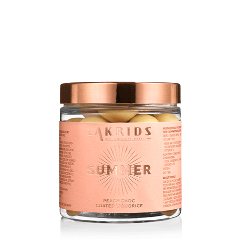 SUMMER – Peach Choc Coated Liquorice