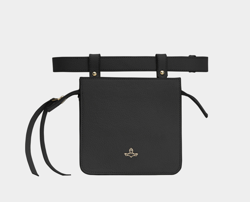 Carre Belt Bag Black