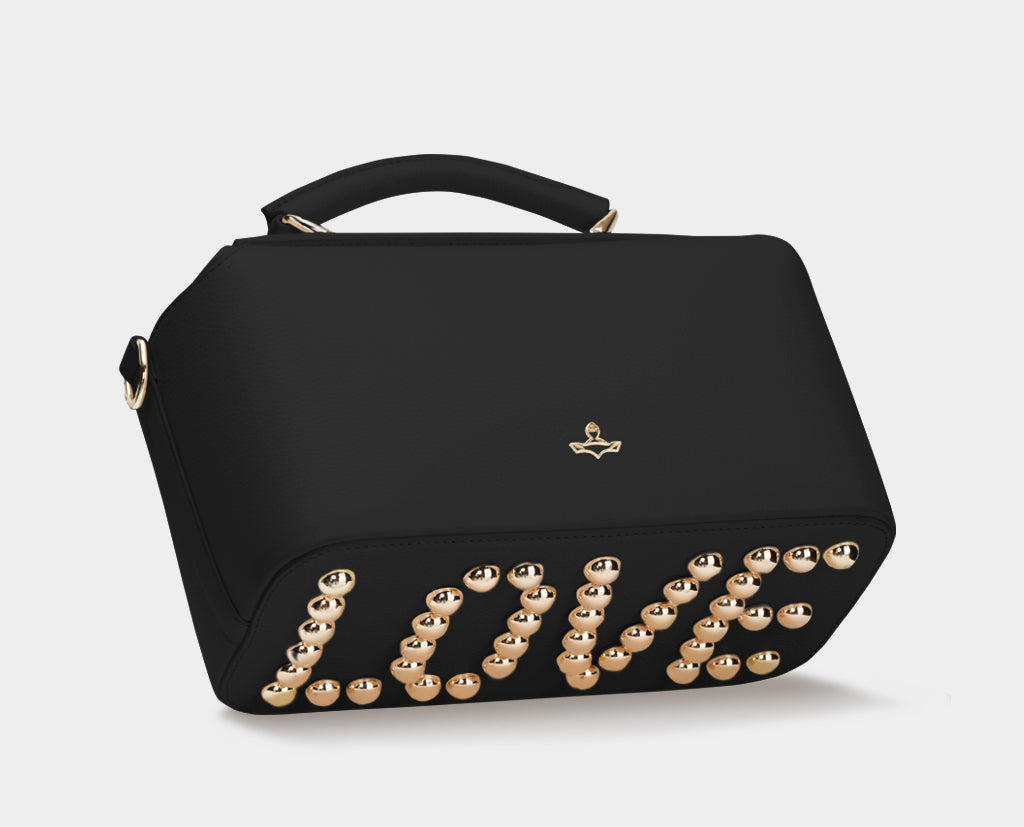Ella LOVE Valentine Black Bag