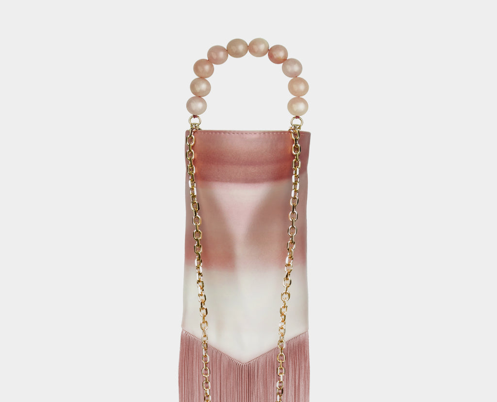 Long Sally Tassel Bag Pink