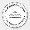Customisation from CATTO Catalogue