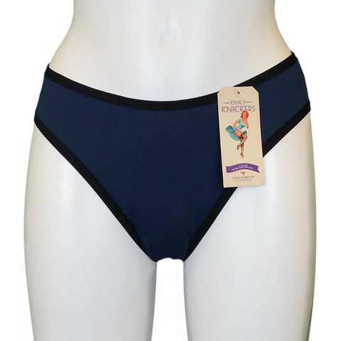 Bamboo Soft Knit Jersey Brief - Ocean