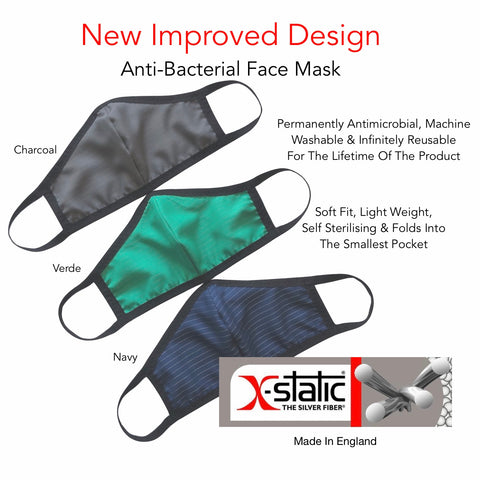 SeeItSafe® X-Static® Face Mask (Improved Fit Design)