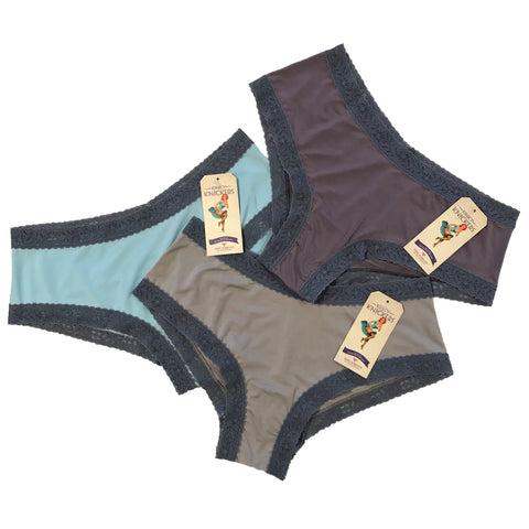 Kinky Knickers Butter Soft Classic Knicker (Natural Elements 3 Pack)