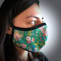 Liberty Print SeeItSafe® X-Static® Face Mask (Improved Fit Design)