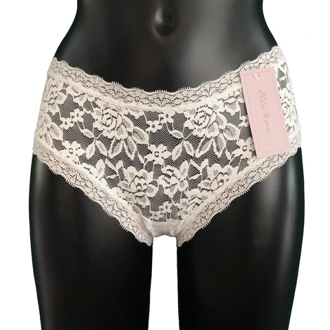 Signature Lace Classic Fit Knicker - Ivory