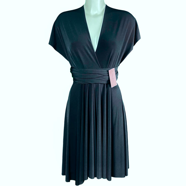 Soft Touch Infinity Dress - Graphite