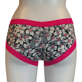Kinky Knickers Exclusive!...'Moody Bloom' Soft Knit Jersey Classic Knicker