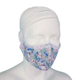 Lace & Silk Face Mask - Wildflowers