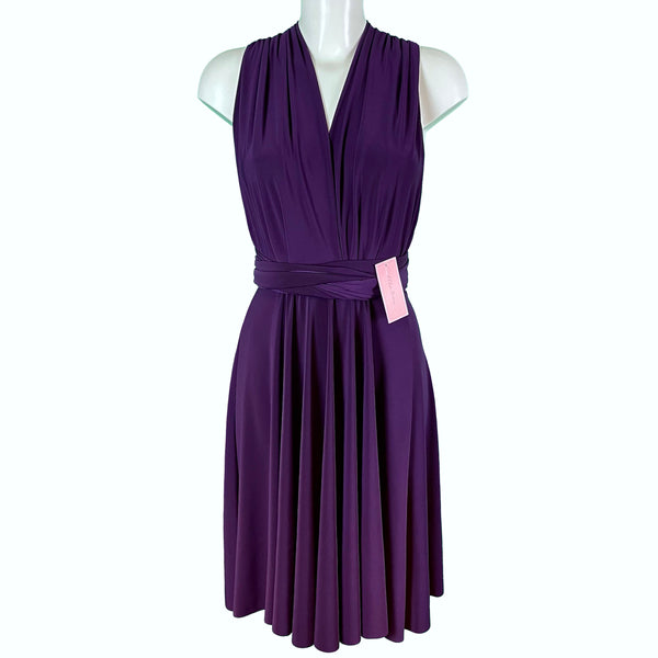 Soft Touch Infinity Dress - Damson