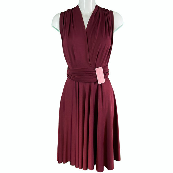 Soft Touch Infinity Dress - Claret