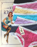 Kinky Knickers...'The Posy' Classic Lace Knicker 7 Day Pack - Kinky Knickers Online - 2