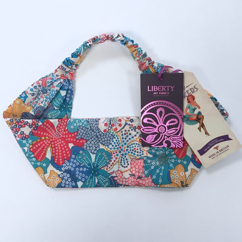 Kinky Knickers Liberty Print 'Summer Patchwork' Hairband