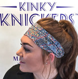 Kinky Knickers Liberty Print 'Paisley Perfect' Hairband - Kinky Knickers Online - 2