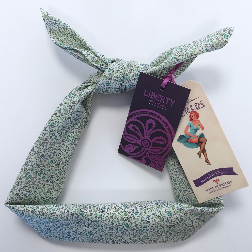 Kinky Knickers Liberty Print 'Meadow Daze' Head Scarf - Kinky Knickers Online - 1