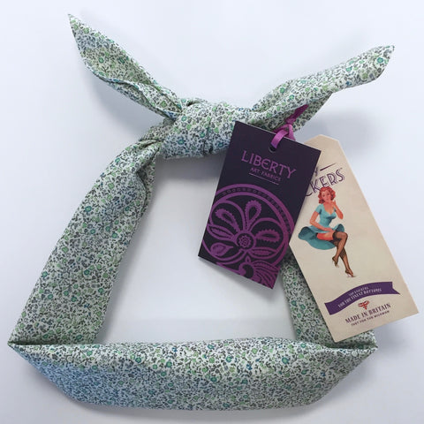 Kinky Knickers Liberty Print 'Meadow Daze' Head Scarf