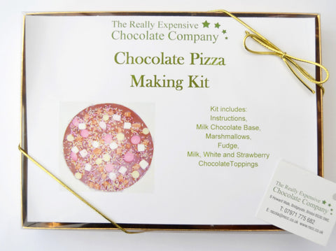 Chocolate Pizza Making Kit