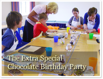 Children's Chocolate Party Voucher