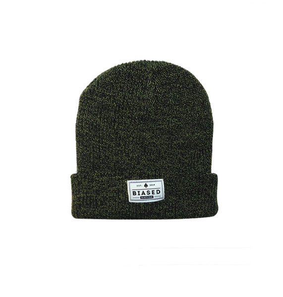 Patch Beanie - Antique Moss