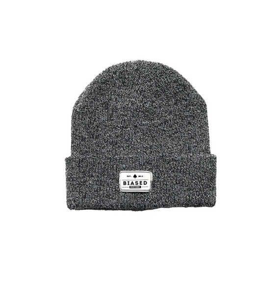 Patch Beanie - Vintage Grey