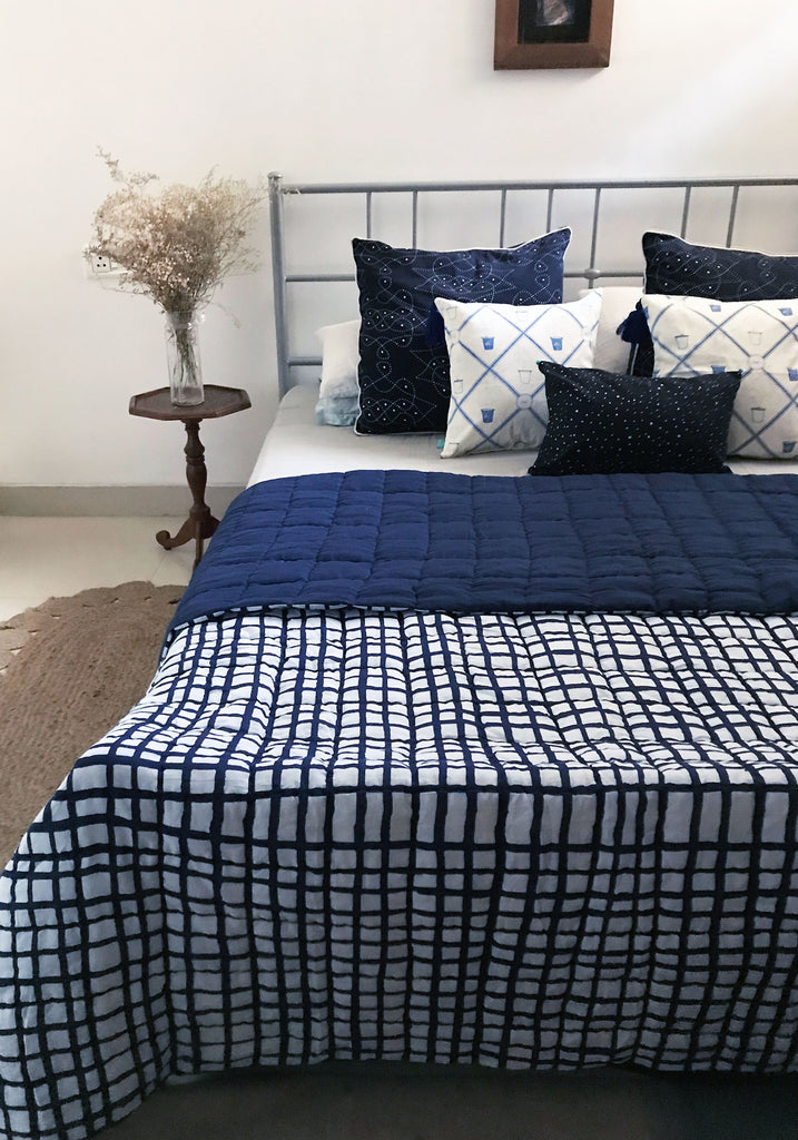 Indigo Bedroom (Set of 4)