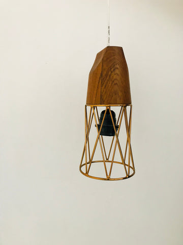 Wire Pendant Lamp