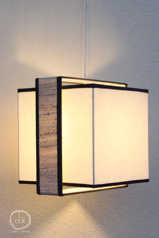 Black and White MUSE Pendant Lamp - Special Edition