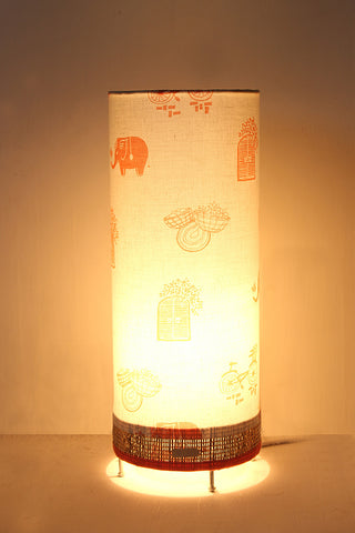 Cycle in My Window Table Lamp