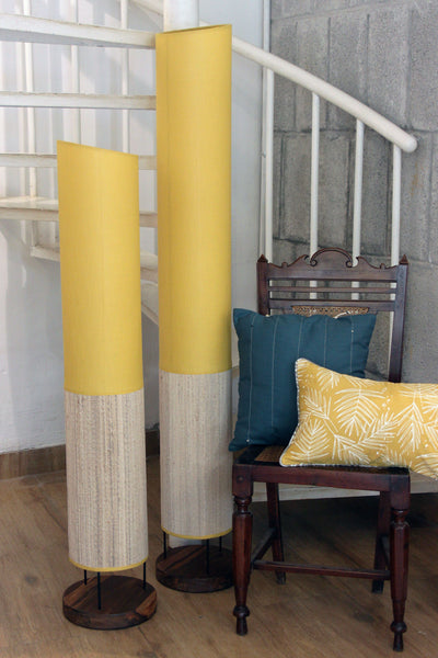 Lemon Tapered Tower Floor Lamp