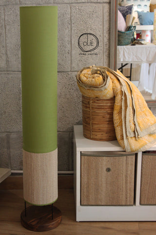 Olive Tower Floor Lamp