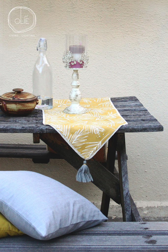 Forest Floor Table Runner & Kitchen Glove Set