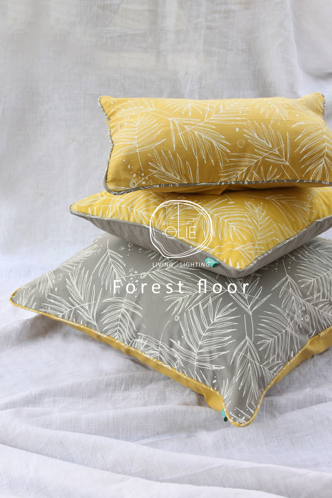 Forest Floor Yellow 16x16