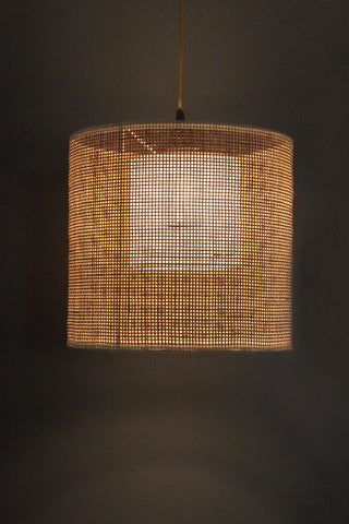 Gingham Pendant Lamp