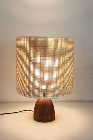 Gingham Table Lampshade