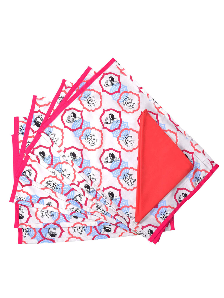 Heartlight Table Mat and Napkin set of 6