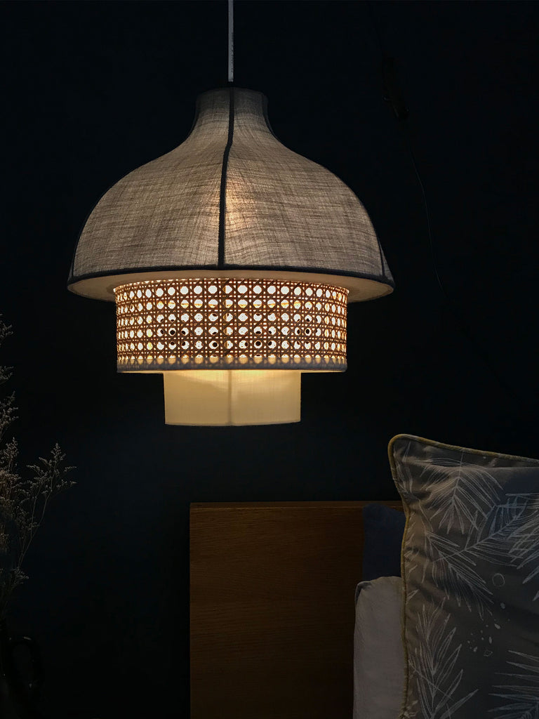 Kanna Grey Pendant Lamp- Express