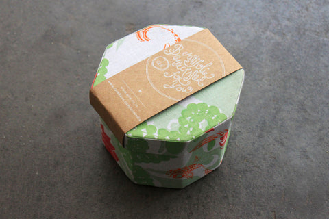 Koi Cloud Hexagonal Box