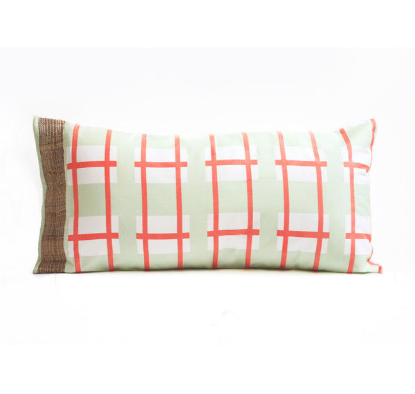 Koi Cloud Long Cushion 26x13 (with filler)