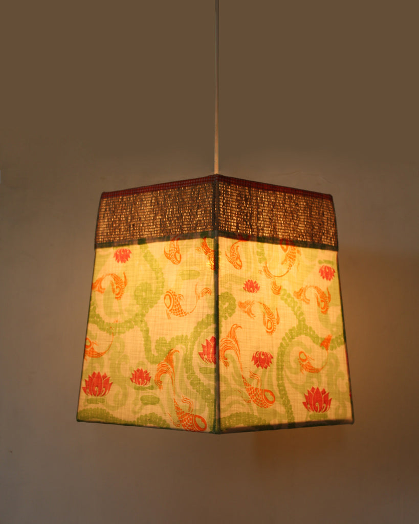 Koi Cloud Square Lamp