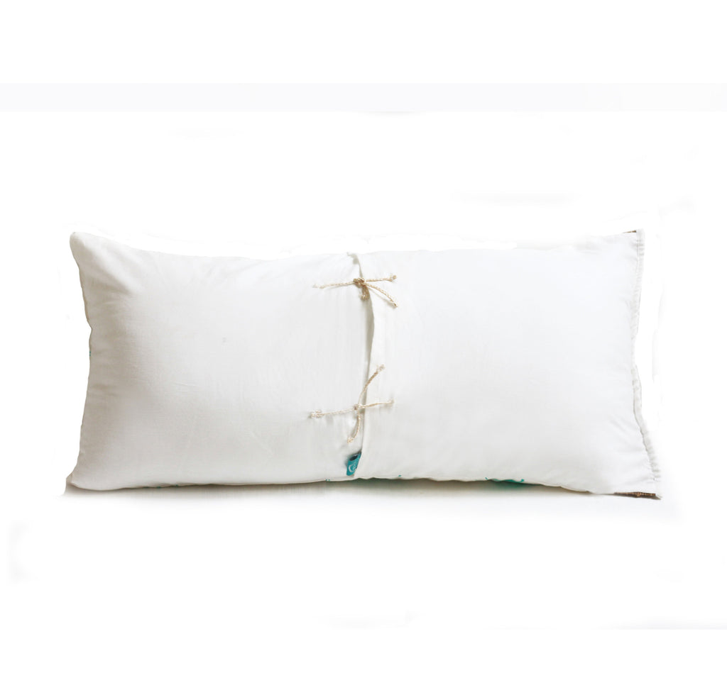 Rain Dance Long Cushion Cover 26 x 13 (with filler)