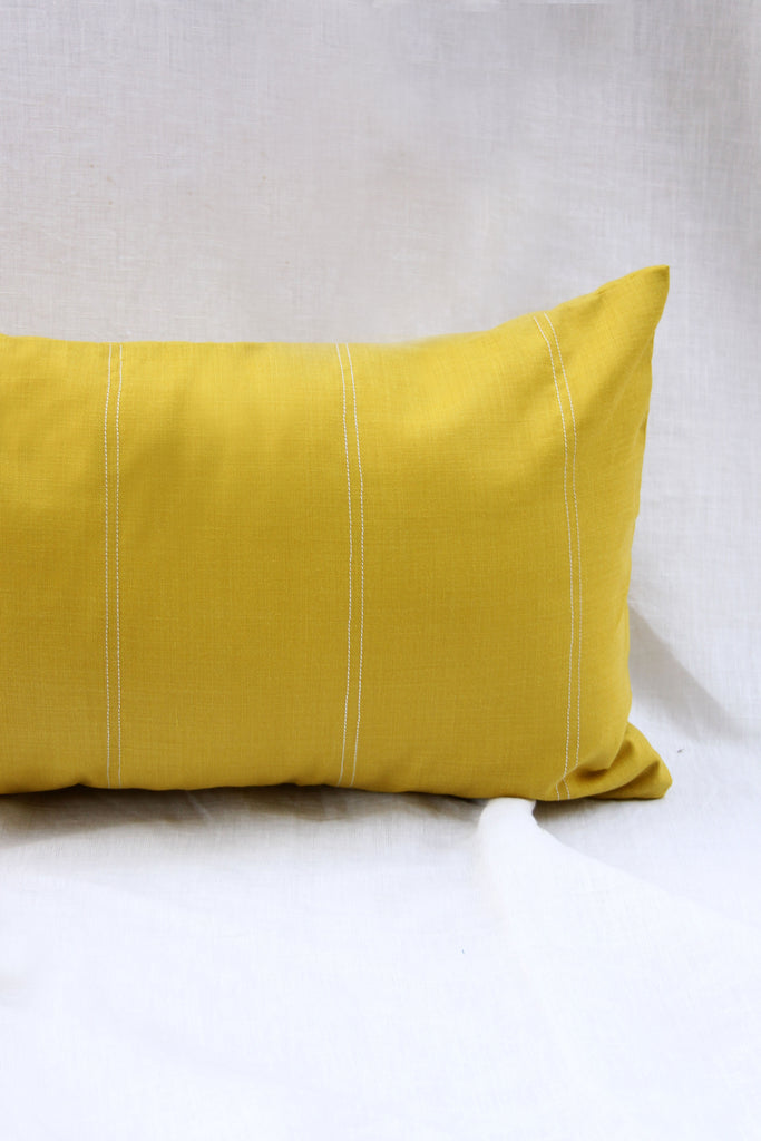 Lemon long cushion with filler