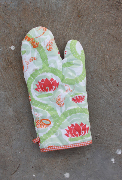 Koi Cloud Oven Mitt