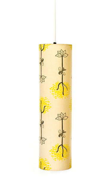 Roots and Wings Cylindrical Pendant Lamp