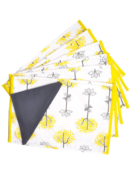 Roots and Wings Table Mat and Napkin set of 6