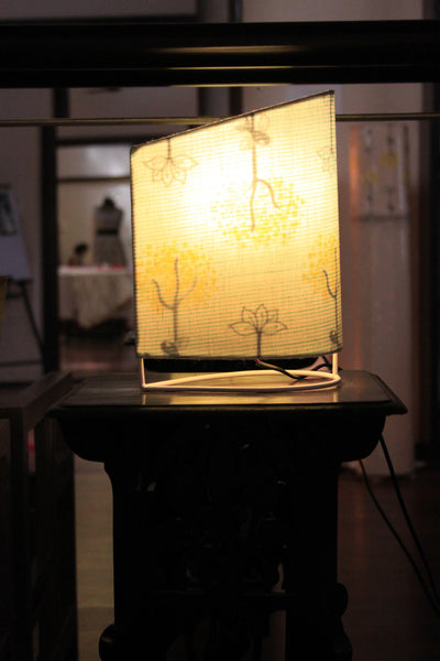 Cloud + Roots and Wings table lamp
