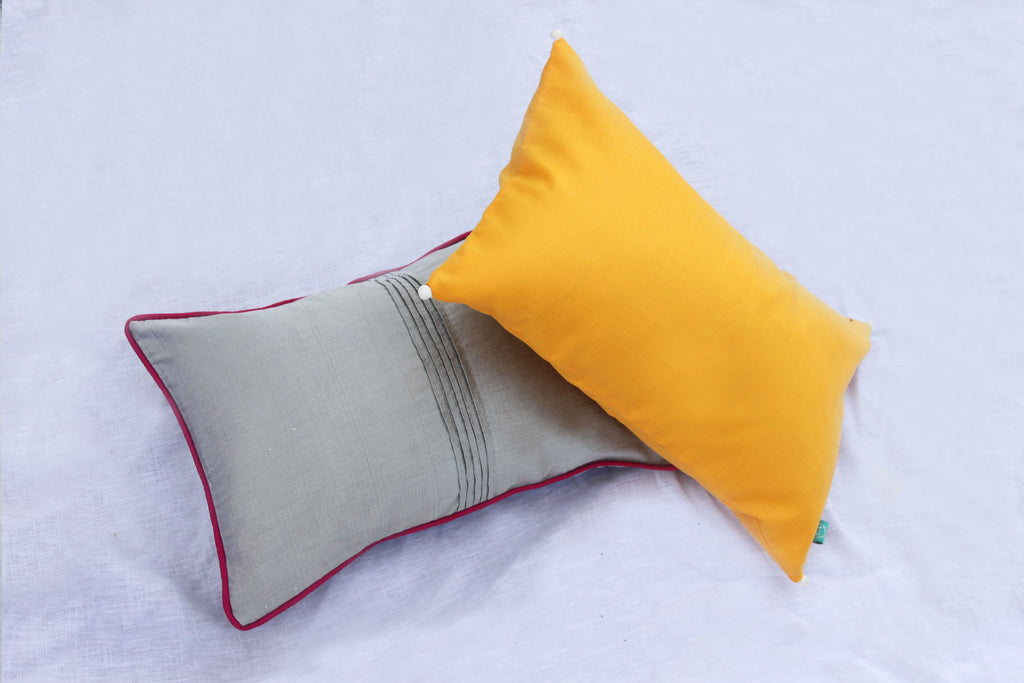 Tiger Eye long cushion with filler