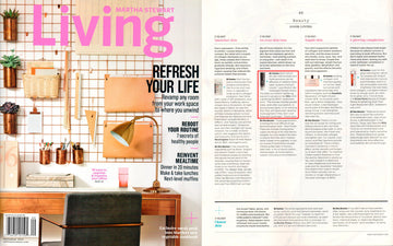 DCL AHA Lightening Gel in Martha Stewart Living!