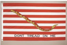 First Navy Jack Historic Flag