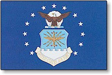 The Flag of US Air Force