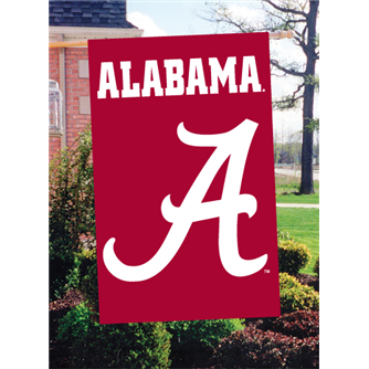 Alabama Applique Banner Flags